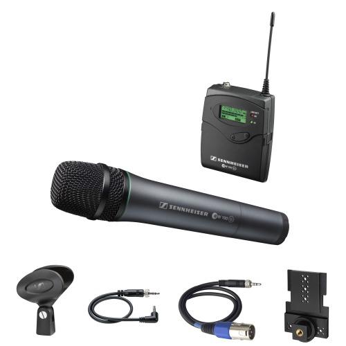 Sennheiser draadloze hand microfoon huren