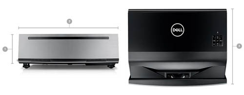 Dell 4K Laser S718QL laser beamer huren